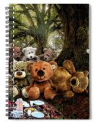 Teddy Bears Picnic Spiral Notebook