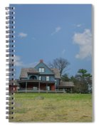 Teddy Roosevelts House - Sagamore Hill Spiral Notebook