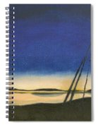 Teepee Poles Spiral Notebook