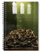 Tefillin Of Czech Jews From The Holocaust Spiral Notebook