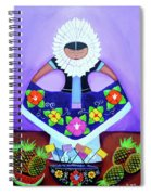 Tehuana Spiral Notebook