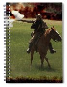 Tejano Cavalry Spiral Notebook