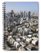 Tel Aviv And Ramat Gan Israel Spiral Notebook