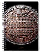 Telefonica Spiral Notebook