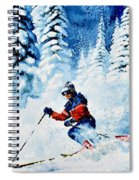 Telemark Trails Spiral Notebook