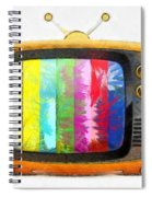 Television Pencil Spiral Notebook