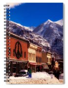 Telluride For The Holiday Spiral Notebook