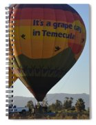 Temecula Wine Country Spiral Notebook