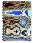 Tempe Town Lake Building Spiral Notebook