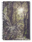 Temperate Rainforest Canopy Spiral Notebook