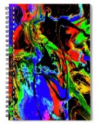 Tempest Of The Storm Spiral Notebook