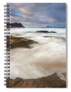 Tempestuous Sea Spiral Notebook