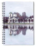 Temple And Bell Tower II Spiral Notebook