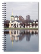 Temple And Bell Tower Spiral Notebook