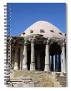 Temple At Fort Kumbhalgarh Spiral Notebook