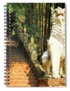 Temple Dog Spiral Notebook