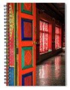 Temple Door Spiral Notebook