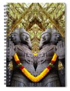 Temple God Spiral Notebook