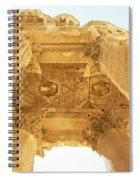 Temple Of Bacchus Spiral Notebook