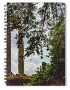 Temple Of Castor And Pollux Spiral Notebook