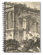 Temple Of Clitumnus Between Foligno And Spoleto  Spiral Notebook