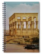 Temple Of Isis On The Nile River Spiral Notebook