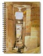 Temple Of Karnak  2 Spiral Notebook