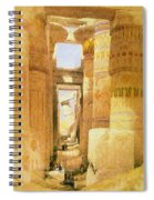 Temple Of Karnak  Spiral Notebook