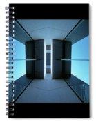 Temple Of Light Spiral Notebook