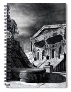 Temple Of Perseus Spiral Notebook