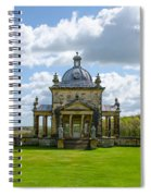 Temple Of The Four Winds Spiral Notebook