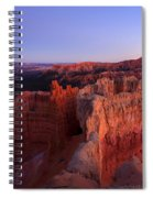 Temple Of The Setting Sun Spiral Notebook