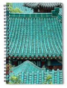 Temple Roofs Spiral Notebook