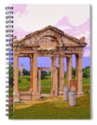Temple Ruins At Ephesus Spiral Notebook