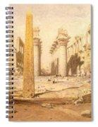 Temple Ruins  Spiral Notebook