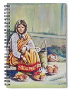 Temple-side Vendor Spiral Notebook