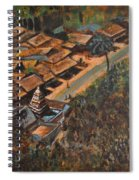 Temple Town Spiral Notebook