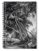 Temporary Tree Dwelling Spiral Notebook