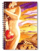 Temptation Spiral Notebook