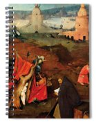 Temptation Of Saint Anthony, Right Wing Spiral Notebook