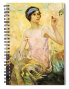 Tempting Sweets 1924 Spiral Notebook