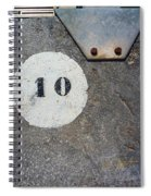 Ten Spiral Notebook