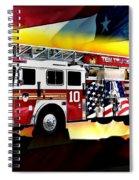 Ten Truck Fdny Spiral Notebook