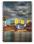 Tenby Harbour Pembrokeshire Spiral Notebook