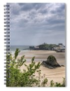 Tenby Pembrokeshire Low Tide Spiral Notebook