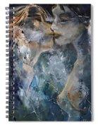 Tender Kiss Spiral Notebook