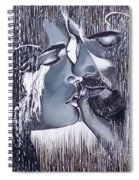 Tenderness And Beauty Spiral Notebook