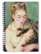 Tenderness Of A Woman Spiral Notebook