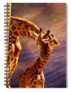 Tenderness Painted Spiral Notebook