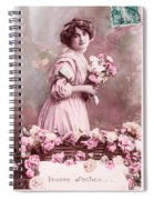 Tendre Affection Spiral Notebook